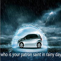 who is your patron saint in rainy day